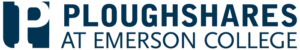 Ploughshares at Emerson College Logo